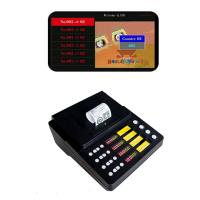 Quality Simple 4 Service Push Button wireless queue number system ticket printer integrate with call pad wholesale