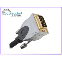 Quality Cableader DVI-D Monitor 24+1 pin male Cable for computer, TV set, DVD players wholesale