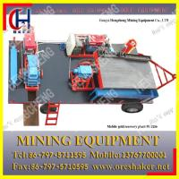 Cheap mobile gold concentrator for sale