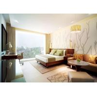 Quality Comfortable Commercial Hotel Furniture With Marble Top Coffee Table wholesale
