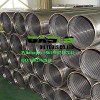 Quality AISI SS304L Thread Coupling Wire Wrapped Johnson Type Well Screens China manufacturer wholesale