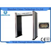 Quality Remote Control Walk Through Metal Detector 6 Zone With CE / ISO9001 wholesale