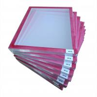 Quality Red Glue Pre-stretched Screen Printing Frame wholesale