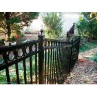 China Courtyard Factory Golf Course Welding Aluminum Fence on sale