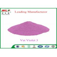 Quality Customized Wool Permanent Fabric Dye C I Vat Violet 3 Vat Violet RRN wholesale