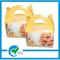 China Art Paper Wrapped Fast Food Take Away Pizza Handmade Cardboard Packaging Boxes on sale