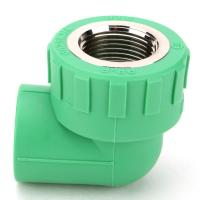 Buy cheap PPR Pipe Fittings 90° Female Threaded Elbow Heat Preservation Green, white or customized from wholesalers