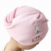 China New Style Shower Cap/Hair Turban, Made of 100% Cotton/High Water Absorption/High Quality/Best Price on sale