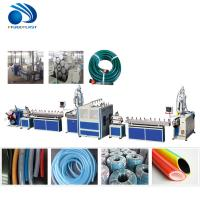 Quality Soft Flexible Plastic Pipe Making Machine For Garden Hose / PVC Water Pipe Machine wholesale