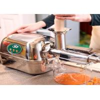Quality shop and home use cold juice pressed machine with stainless steel material wholesale