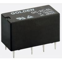 Buy cheap Blue / Black High Frequency Relay GC 1A 12V 1A/250VDC 0.15W 12-48VDC DPDT -40 from wholesalers
