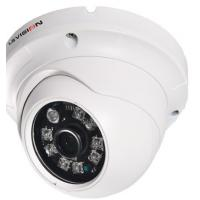 Quality Infrared HD CCTV Cameras PAL / NTSC Anti Vandal With Varifocal Lens Dome Shape Camera wholesale