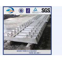 Quality factory sale concrete railway sleepers turnout switch concrete sleepers wholesale