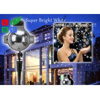 Quality 120 - 240V Outdoor LED Snowflake Projector For Winter Festival And Shop Promotion wholesale