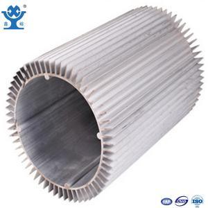 China 6063-T6 Anodized White Aluminum Heat Sinks on sale