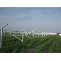 Extruded Aluminum Profiles Aluminium Solar Panel Frame For Ground Solar Mounting for sale