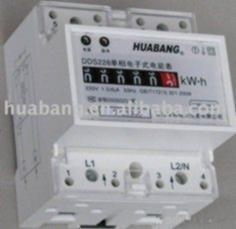 Quality Single Phase Digital Energy Meter wholesale