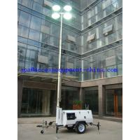Quality 9mMobileDiesel LightTower with Kutoba Engine wholesale