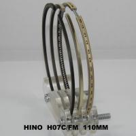 Quality H07C High Performance Custom Piston Rings Set , Hino Diesel Engine Parts wholesale