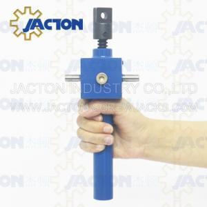 Buy cheap Rotating screw jack worm motorized screw jack worm bevel gear screw jack WSH from wholesalers