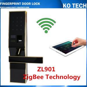 Quality biometric fingerprint door lock KO-ZL901 foraccess control system withpassword+fingerprint wholesale