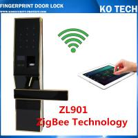 Buy cheap biometric fingerprint door lock KO-ZL901 foraccess control system withpassword from wholesalers