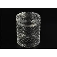 Quality Bulk Glass Tealight Holders / Glass Candlestick Holders Used In Sented Soy Wax wholesale