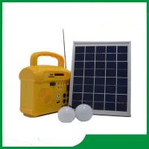 China 10w mini hand solar panel lighting kits / led solar light lighting kits with phone charger, radio, MP3 for hot sale on sale