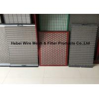 Quality Model 500 Shaker Vibrating Screen , Corrugated / Flat Shale Shaker Screen Suppliers wholesale