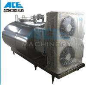 Quality 2000L Sanitary to 5000L (elliptical milk cooling tank) Horizontal Milk Cooling Tank (ACE-ZNLG-U2) wholesale