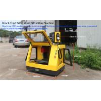 China Small CNC Machines for Education / Matel Bench top CNC machines  made in China Color:yellow on sale