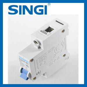 Cheap Dz47-63 / c65n 1p 2P 3P 4P miniature circuit breaker , MCB Circuit Breakers for sale