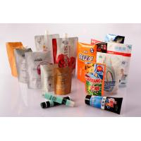 Quality Standup Heat Seal Cosmetics Pouch, Flexible Cosmetic Packaging Laminated Bag wholesale