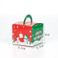 China Candy Christmas Gift Paper Boxes Luxury Color Printing on sale