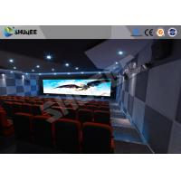 Quality Attractive 5D Theater System 4DOF Motion Chairs With Special Effect wholesale