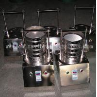Quality Standard lab analysis test vibrating sieve from Hongyuan equipment wholesale
