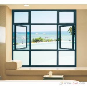 Quality Horizontal Aluminum Casement Windows Noise Insulation Powder Coating Waterproof wholesale