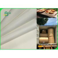China 70gsm To 120gsm Food Grade Uncoated White Bleached Kraft Paper FDA EU SGS on sale