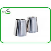 Quality Stain Finishing Eccentric Reducer Pipe Fitting For SS Sanitary Pipe Fittings wholesale
