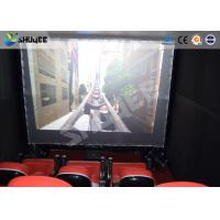 Quality Electronic System Motion Theater Seats Equip Snow Rain Bubble Lightning ETC wholesale