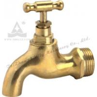 Quality Polished Brass faucet(brass bibcock) with Brass Handle wholesale