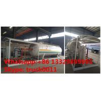 Quality best price Factory sell customized 32m3 skid lpg station, mobile skid-mounted lpg gas refilling plant for gas cylinders wholesale