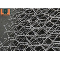 Easily Assembled 2x1x1m Gabion Steel Mesh Wire Cages For Rock Retaining Walls for sale