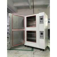 Quality Stackable Climatic Test Chamber Glass Fiber Insulation Single Stage Compression Refrigeration wholesale