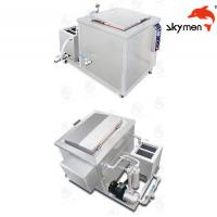 Quality Engine / Auto Parts Ultrasonic Cleaning Equipment 2400W 28/40KHz With Filter wholesale