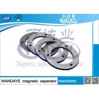 Quality Professional Magnetic Drum Separator Machine / Overband Magnetic Separator Permanent Magnet Ring wholesale