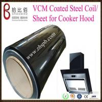 Quality VCM(PVC/PET Coated  Metal/Steel) Coil for Cooker Hood wholesale