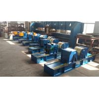 China Tank Pipe Rollers Heavy Duty 100 Ton Rotary Capacity Self Centering on sale