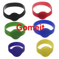 Quality Smart  Custom Rfid Tag Wristband , Rfid Enabled Wristbands High Temperature Endurable wholesale