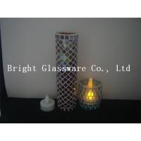China Wholesale Tea Light Candle Holder, mosaic candle holder on sale